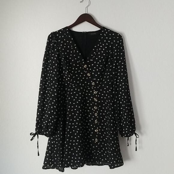Storets Gina Button Dress size small